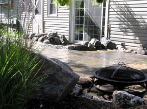 A9 Flagstone Patio
